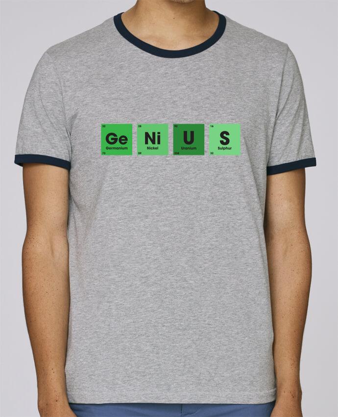 Camiseta Bordes Contrastados Hombre Stanley Holds GENIUS pour femme por tunetoo