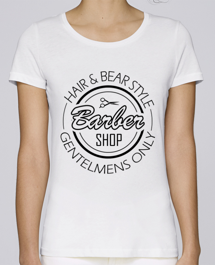 Camiseta Mujer Stellla Loves BARBERSHOP PRO por SG LXXXIII