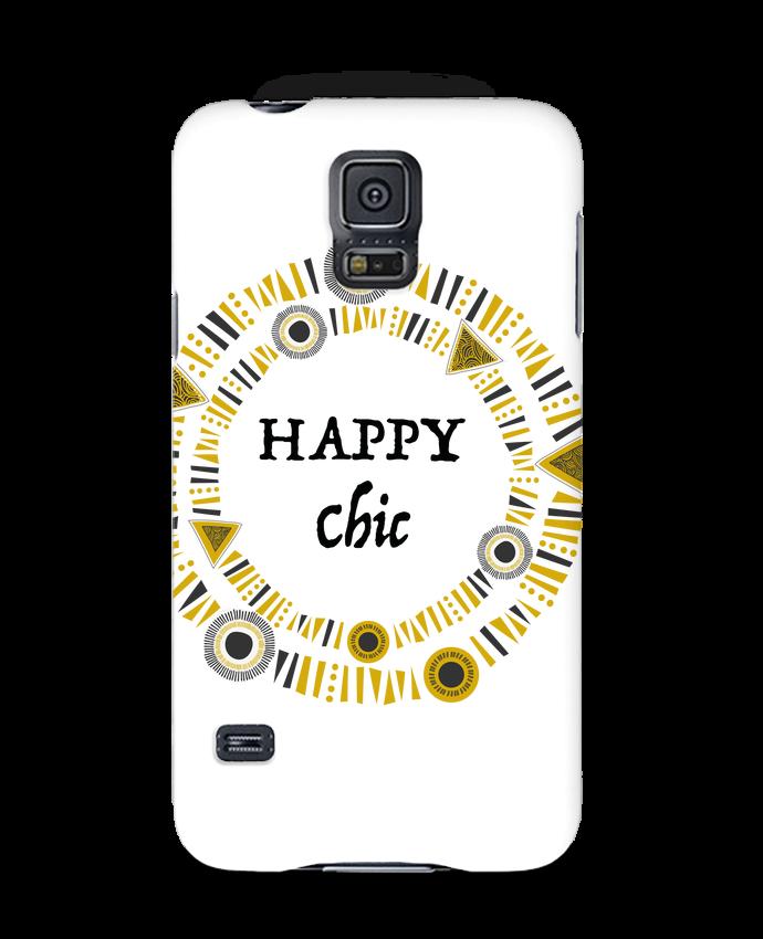 Carcasa Samsung Galaxy S5 Happy Chic por LF Design