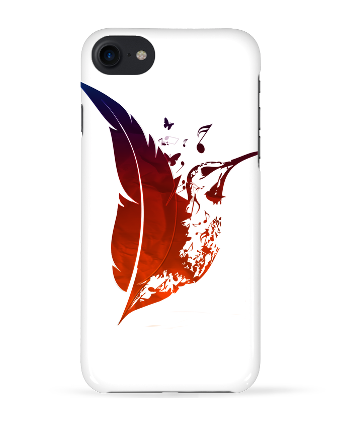 Carcasa Iphone 7 plume colibri de Studiolupi