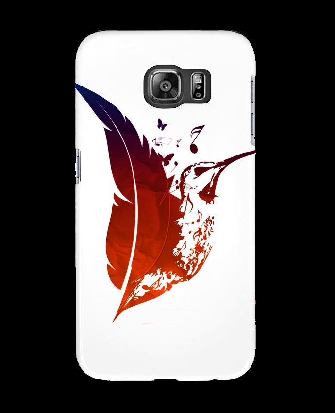 Carcasa Samsung Galaxy S6 plume colibri - Studiolupi