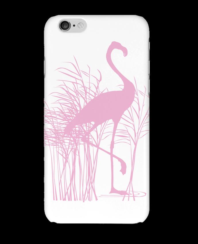 Carcasa  Iphone 6 Flamant rose dans roseaux por Studiolupi