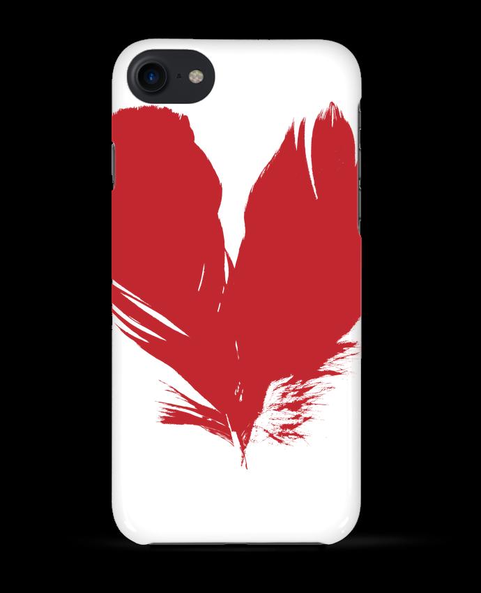 Carcasa Iphone 7 coeur de plumes de Studiolupi