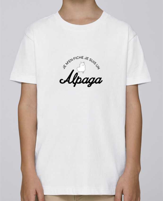 Camiseta de cuello redondo Stanley Mini Paint Alpaga por Nana