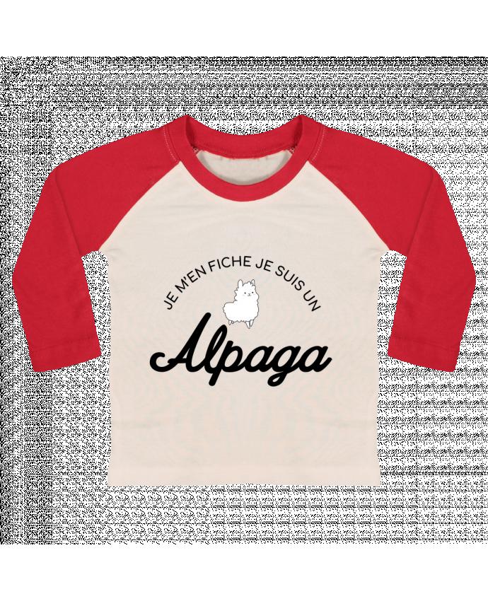 Camiseta Bebé Béisbol Manga Larga Alpaga por Nana