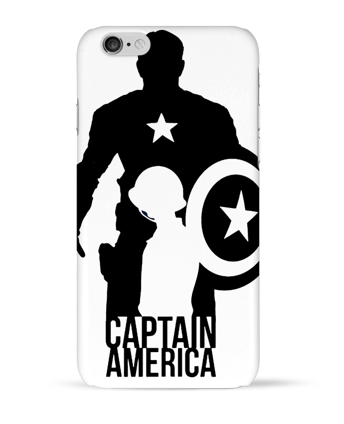 Carcasa  Iphone 6 Captain america por Kazeshini