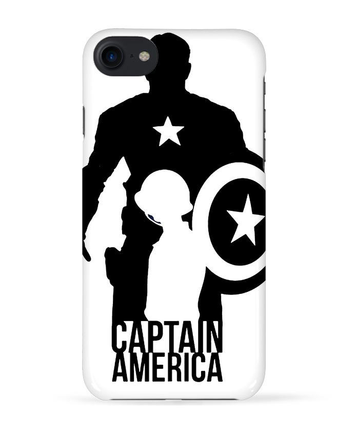 Carcasa Iphone 7 Captain america de Kazeshini