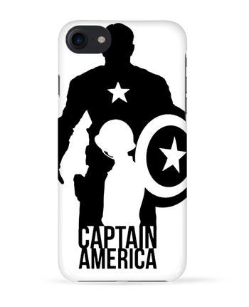 Carcasa 3D Iphone 7 Captain america de Kazeshini
