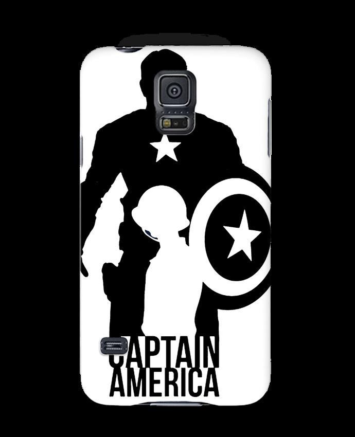 Carcasa Samsung Galaxy S5 Captain america por Kazeshini