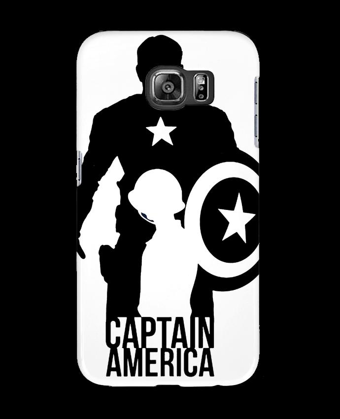 Carcasa Samsung Galaxy S6 Captain america - Kazeshini