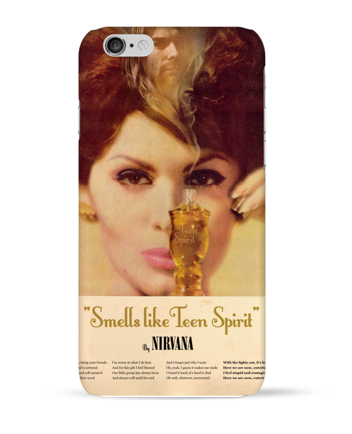 Carcasa  Iphone 6 Nirvana por Ads Libitum