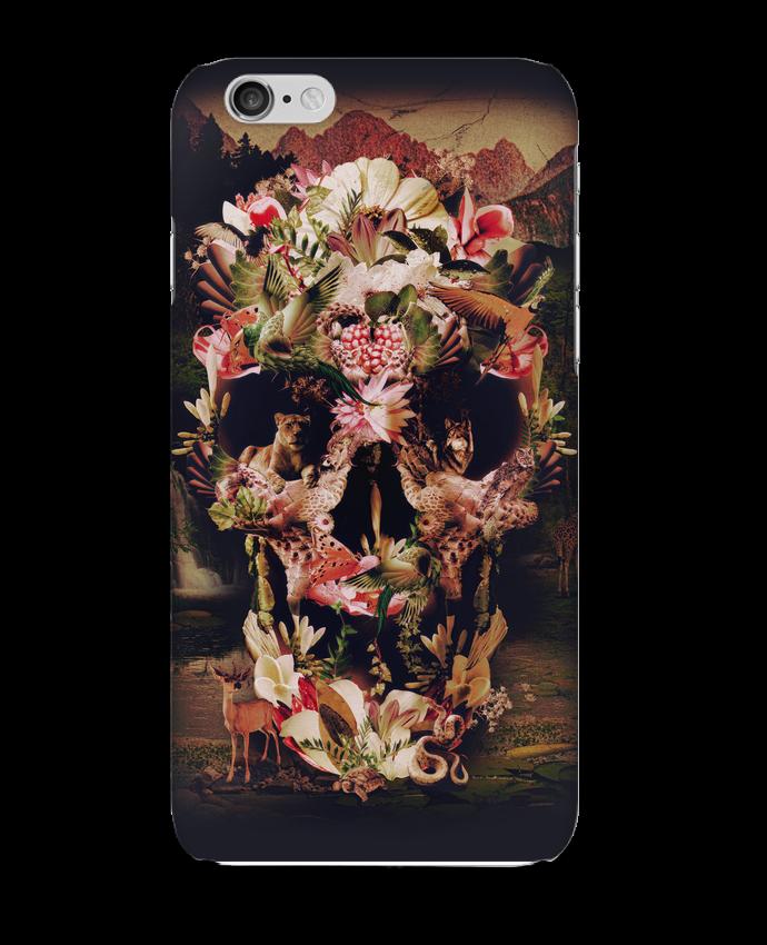 Carcasa  Iphone 6 Jungle Skull por ali_gulec