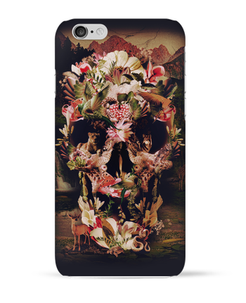 Carcasa 3D Iphone 6  Jungle Skull por ali_gulec