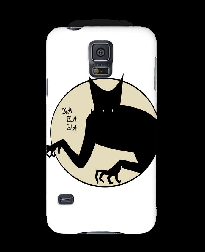 Carcasa Samsung Galaxy S5 BLA BLA BLA por teeshirt-design.com
