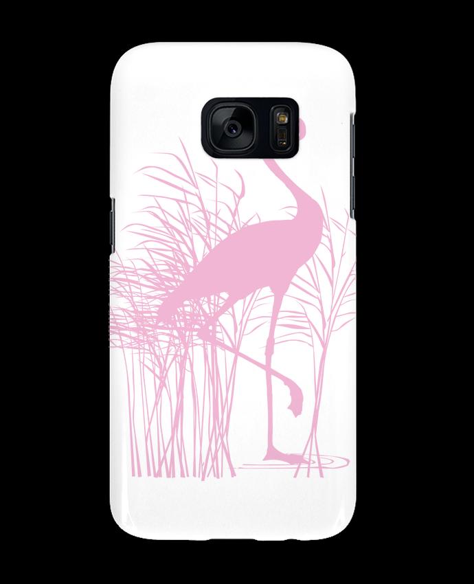 Carcasa Samsung Galaxy S7 Flamant rose dans roseaux por Studiolupi