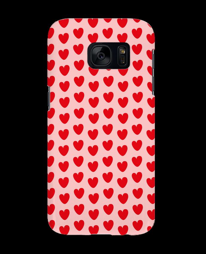 Carcasa Samsung Galaxy S7 Pattern cœurs por tunetoo
