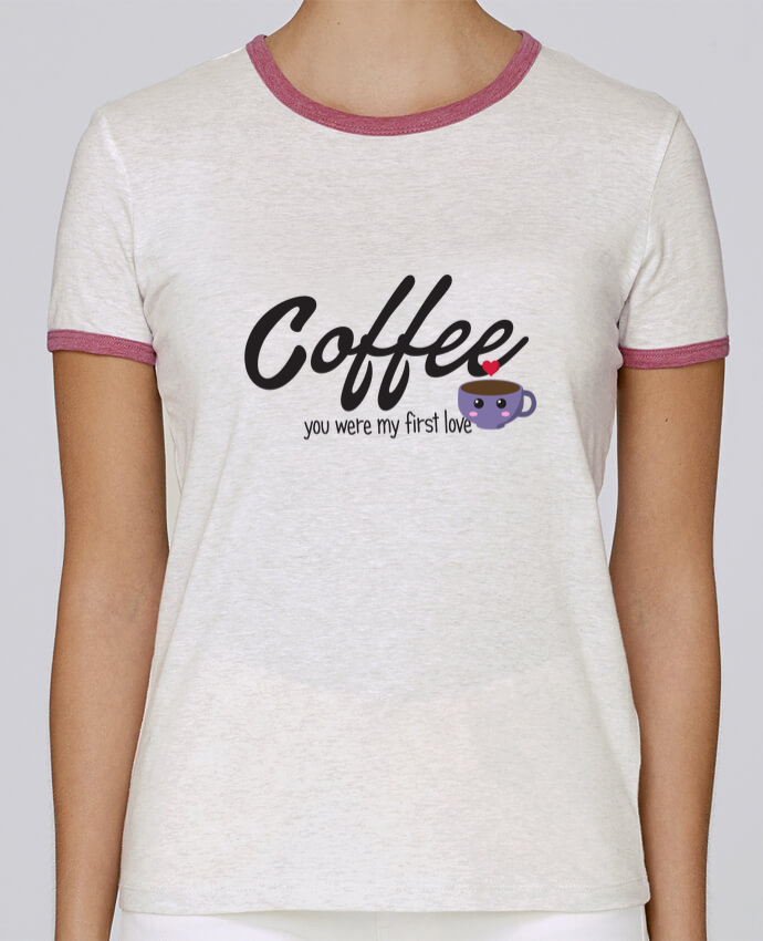 Camiseta Mujer Stella Returns Coffee you were my first love pour femme por tunetoo