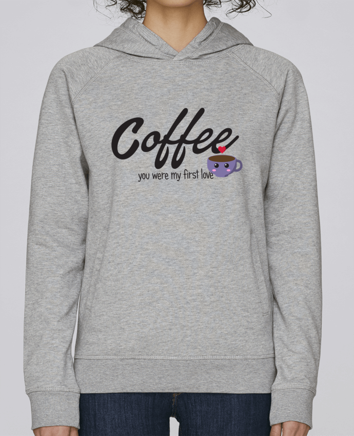 Sudadera Hombre Capucha Stanley Base Coffee you were my first love por tunetoo