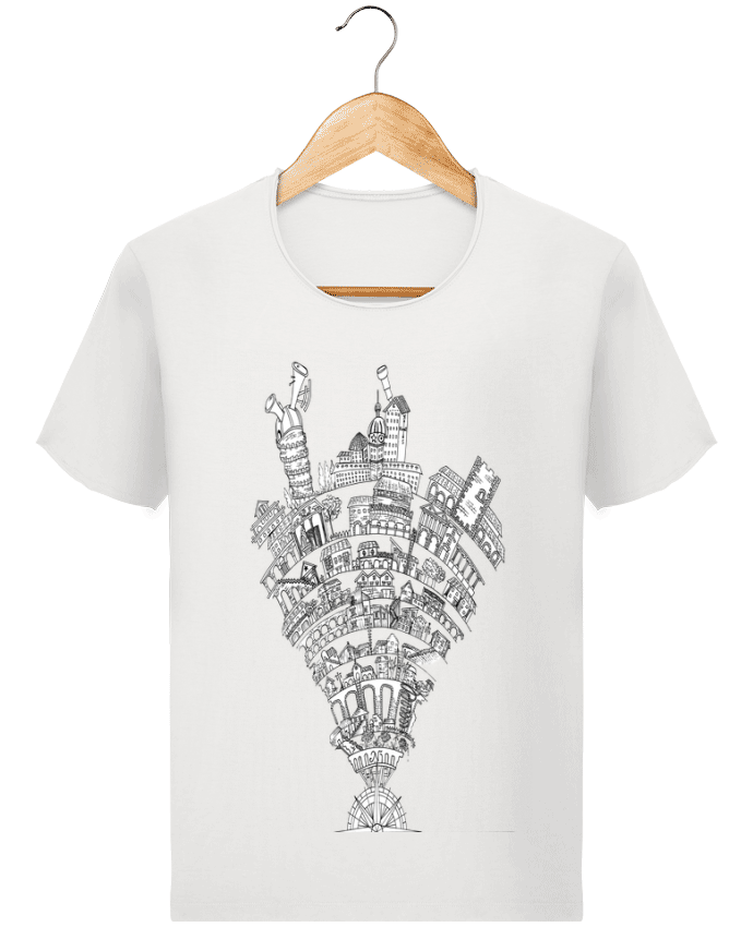 Camiseta Hombre Stanley Imagine Vintage Perintzia invisible city por Jugodelimon