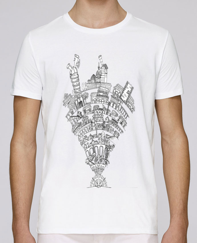 Camiseta Cuello Redondo Stanley Leads Perintzia invisible city por Jugodelimon