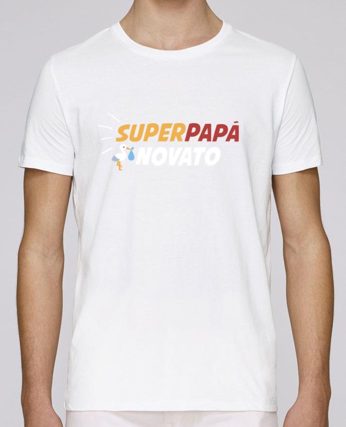 Camiseta Cuello Redondo Stanley Leads Superpapá novato por tunetoo