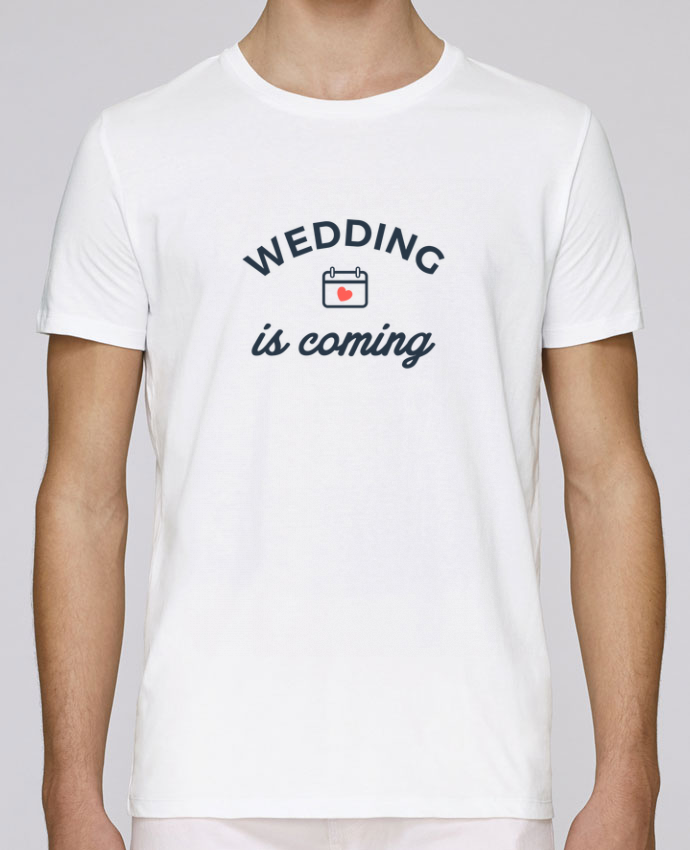 Camiseta Cuello Redondo Stanley Leads Wedding is coming por Nana