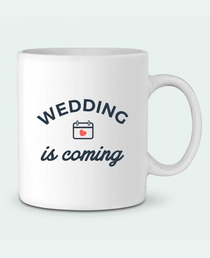 Taza Cerámica Wedding is coming por Nana