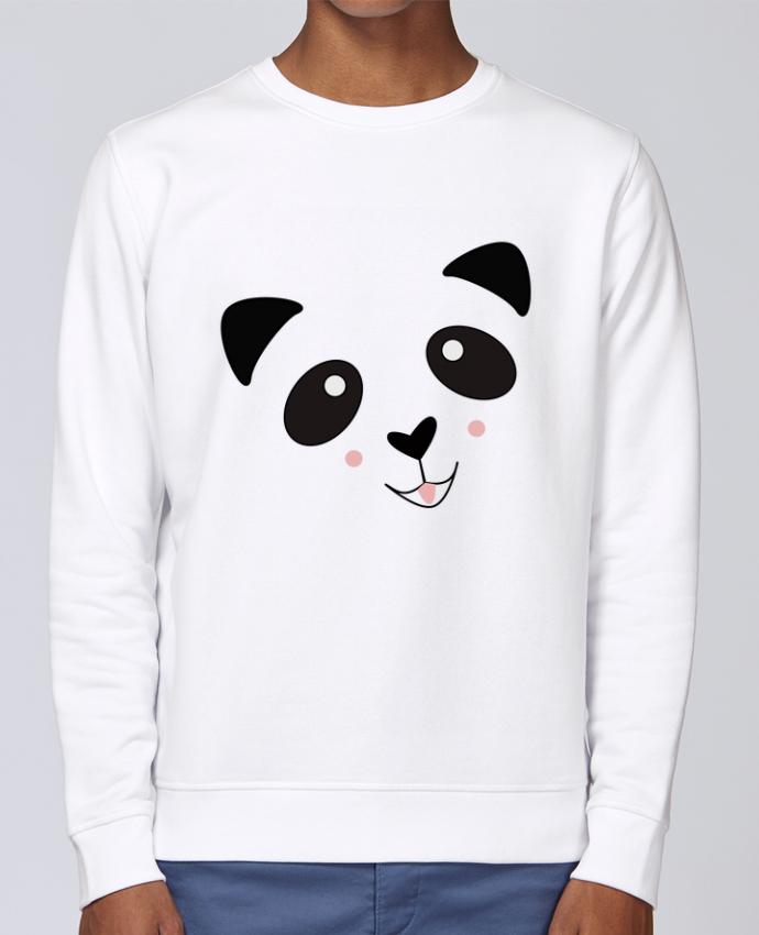 Sudadera básica manga pegada unisexo Stanley Stella Rise Bébé Panda Mignon por K-créatif