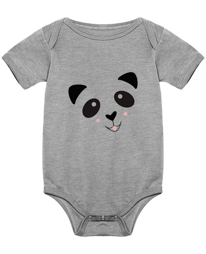 Body Bebé Bébé Panda Mignon por K-créatif