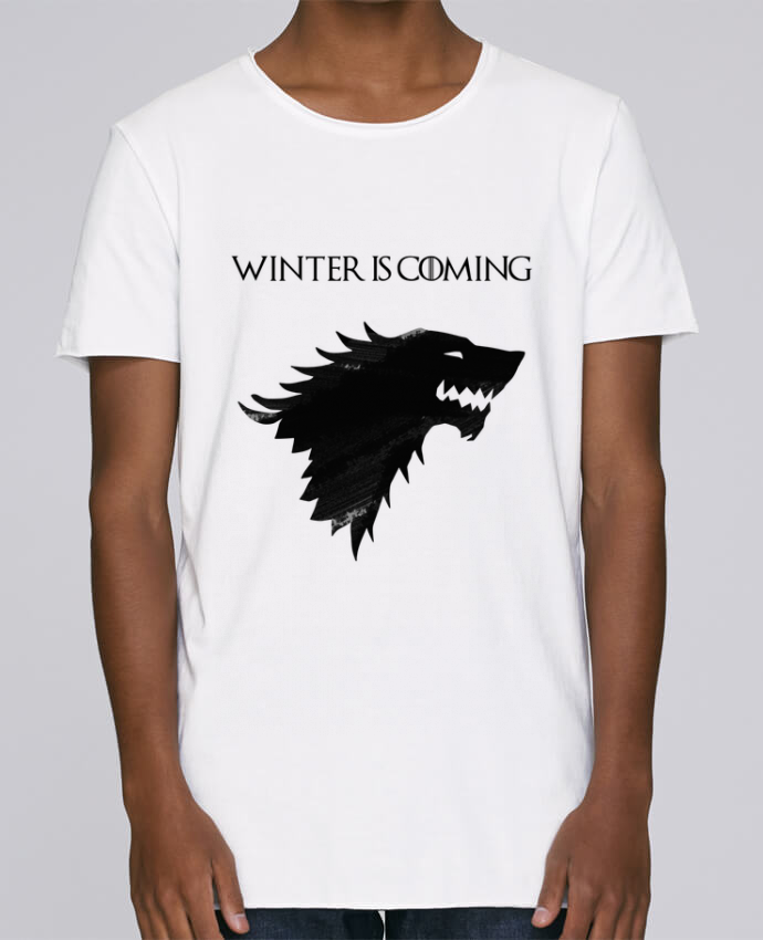 Camiseta Hombre Tallas Grandes Stanly Skates Winter is coming - Stark por tunetoo