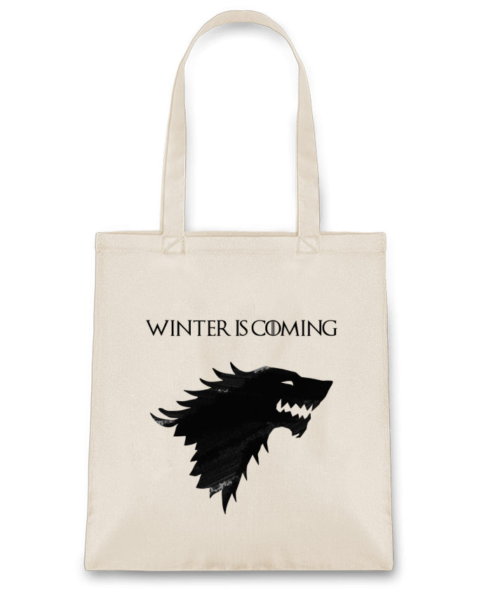 Bolsa de Tela de Algodón Winter is coming - Stark por tunetoo