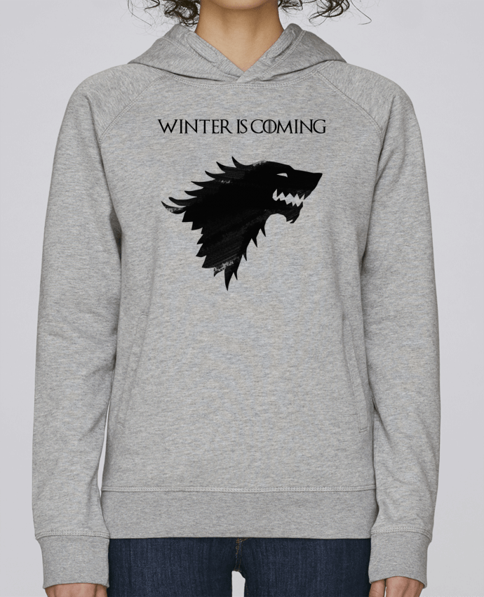Sudadera Hombre Capucha Stanley Base Winter is coming - Stark por tunetoo