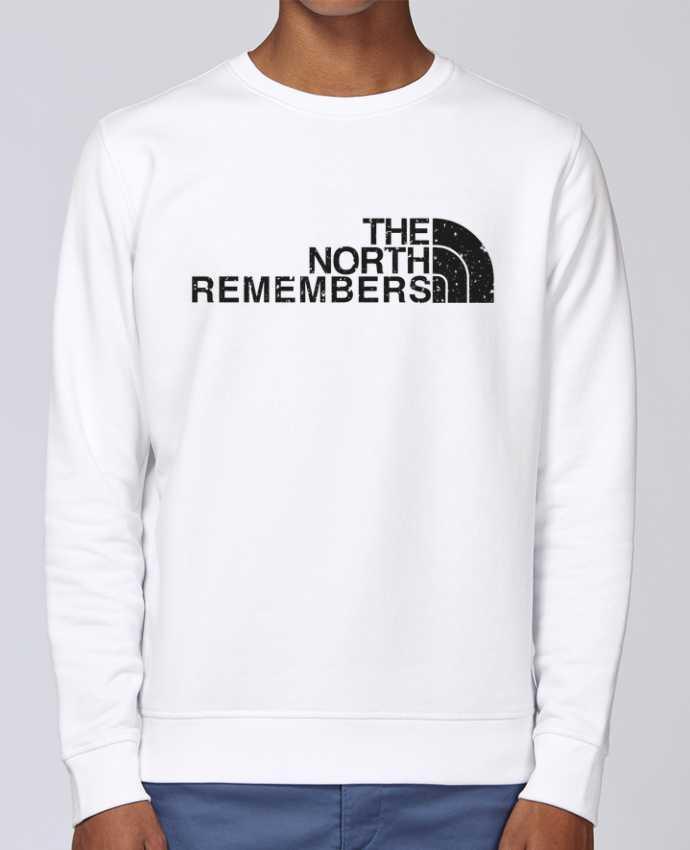 Sudadera básica manga pegada unisexo Stanley Stella Rise The North Remembers por tunetoo