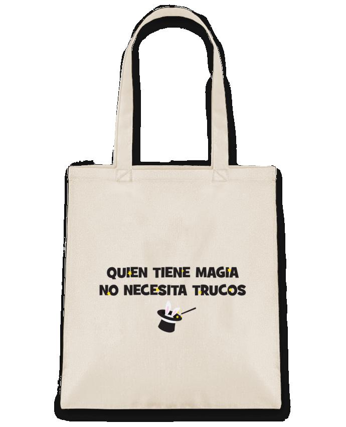 Bolsa de Tela de Algodón Quien tiene magia no necesita trucos por tunetoo