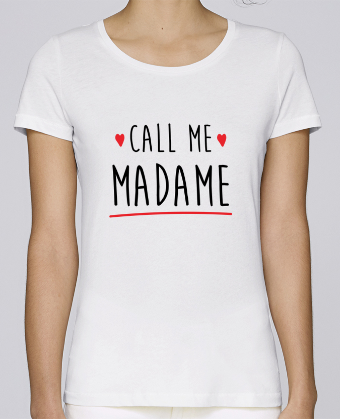 Camiseta Mujer Stellla Loves Call me madame evjf mariage por Original t-shirt