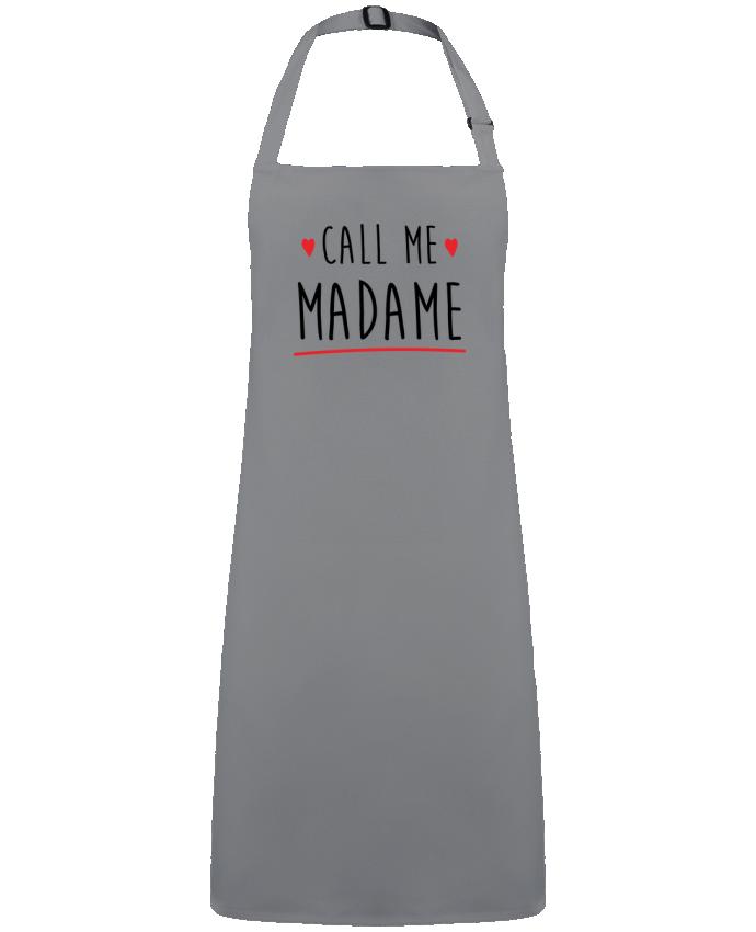 Delantal Sin Bolsillo Call me madame evjf mariage por  Original t-shirt