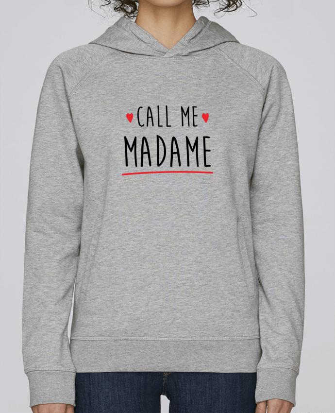 Sudadera Hombre Capucha Stanley Base Call me madame evjf mariage por Original t-shirt
