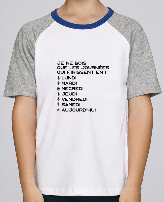 Camiseta de manga ranglan corta en contraste Stanley Mini Jump Short Sleeve Les journées en i cadeau por Original t-shirt