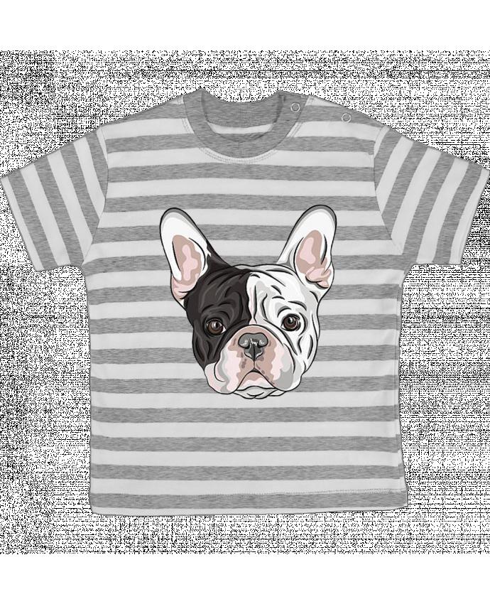 Camiseta Bebé a Rayas Frenchy por caroline.c