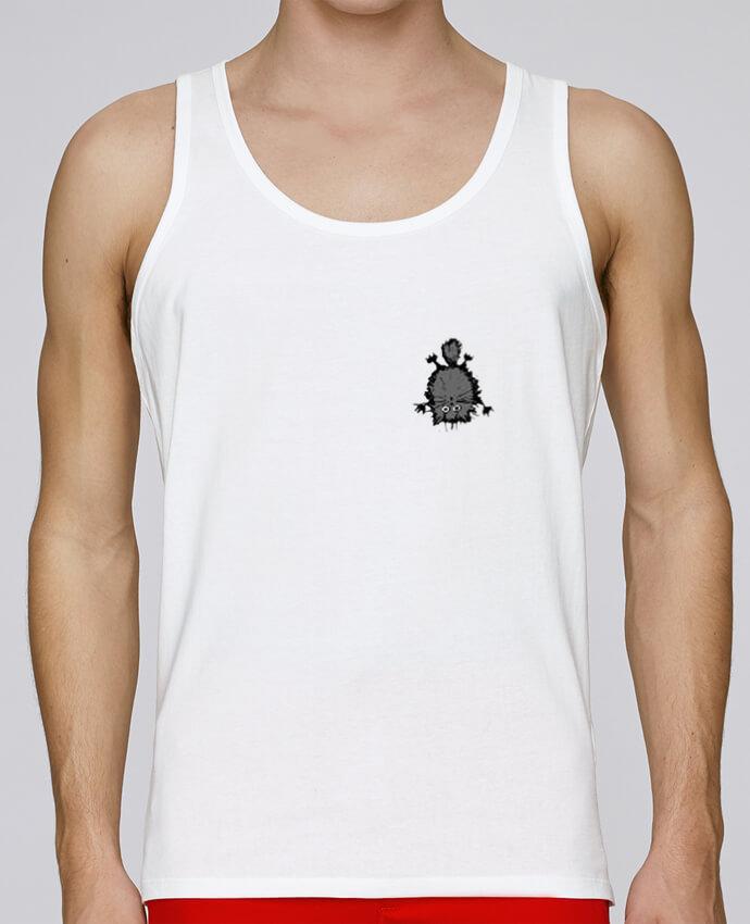 Camiseta de tirantes algodón orgánico hombre Stanley Runs Chat por caroline.c 100% coton bio