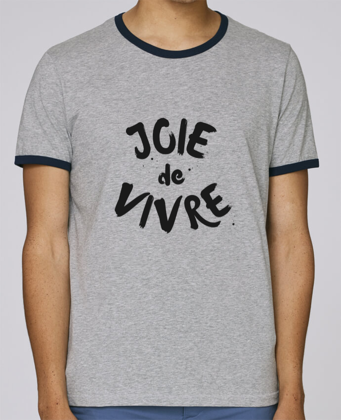 Camiseta Bordes Contrastados Hombre Stanley Holds Joie de vivre pour femme por tunetoo