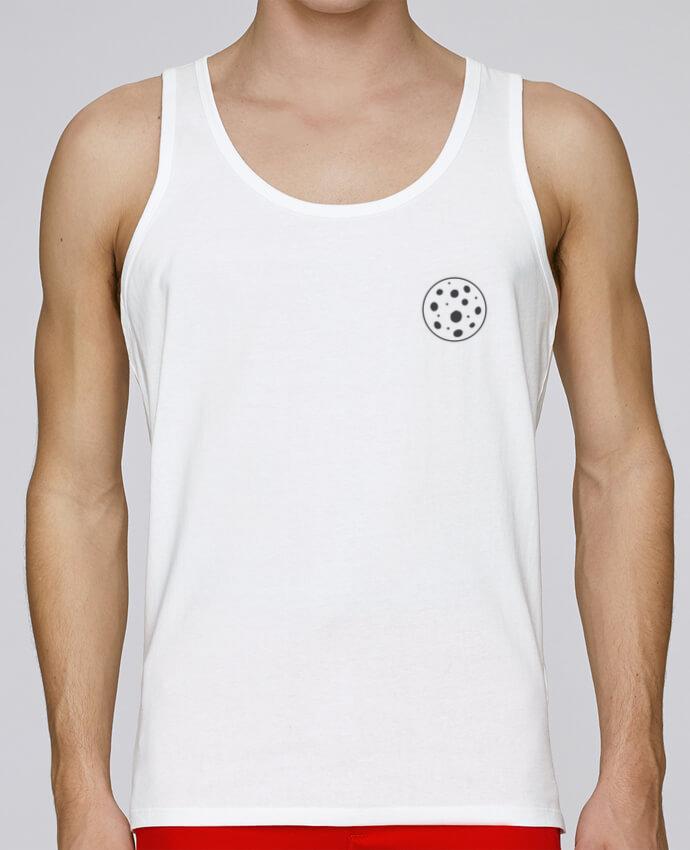 Camiseta de tirantes algodón orgánico hombre Stanley Runs Sun and Moon 2 por tunetoo 100% coton bio