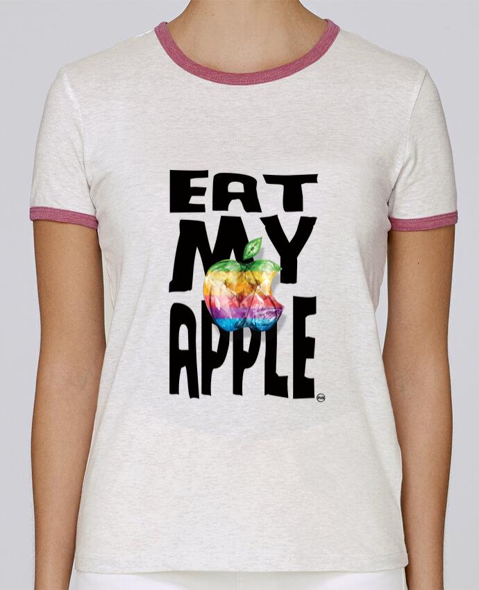 Camiseta Mujer Stella Returns EAT MY APPLE pour femme por RUBIANT