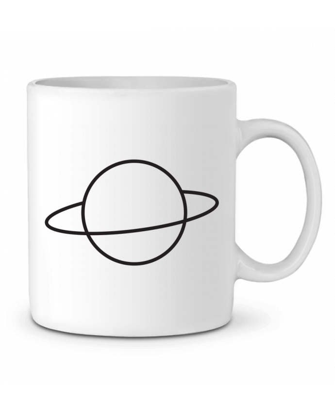 Taza Cerámica Alien and Planet por tunetoo