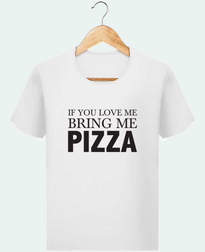 Camiseta Hombre Stanley Imagine Vintage Bring me pizza por tunetoo