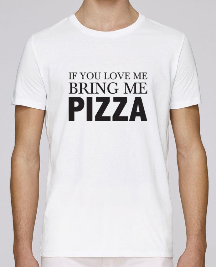 Camiseta Cuello Redondo Stanley Leads Bring me pizza por tunetoo
