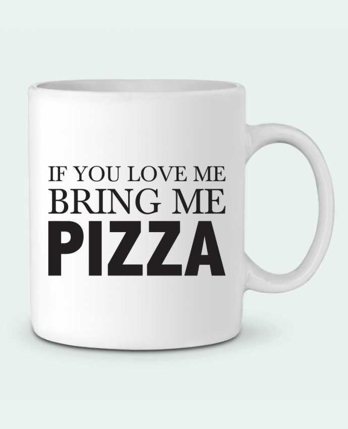 Taza Cerámica Bring me pizza por tunetoo