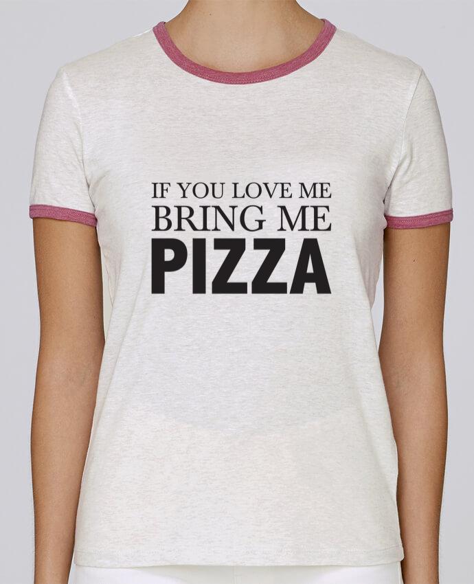 Camiseta Mujer Stella Returns Bring me pizza pour femme por tunetoo