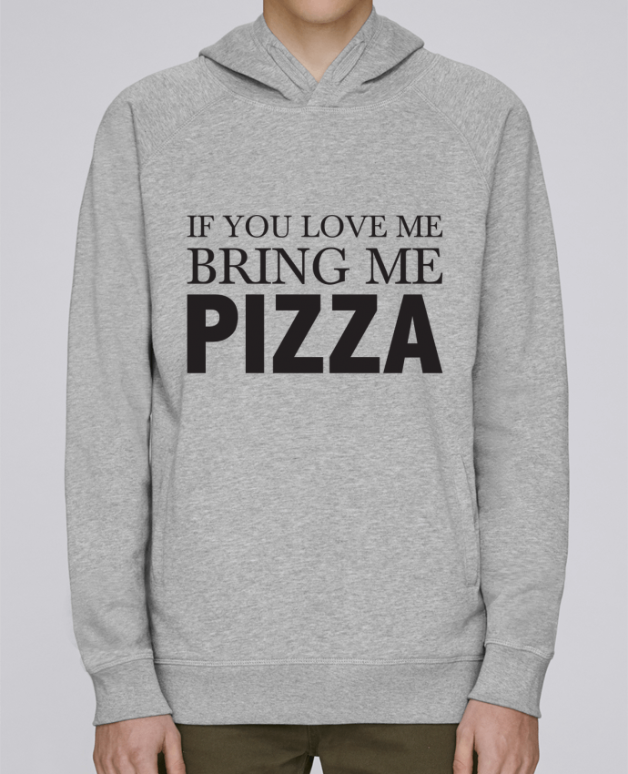 Sudadera Hombre Capucha Stanley Base Bring me pizza por tunetoo