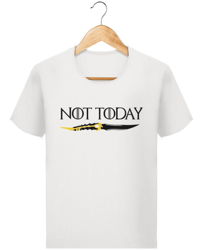 Camiseta Hombre Stanley Imagine Vintage Not today - Arya Stark por tunetoo